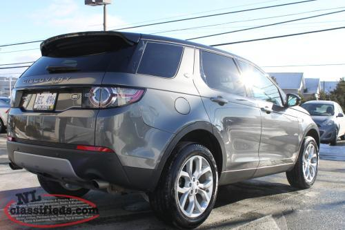 reduced 2016 land rover discovery sport hse certified pre owned mount pearl newfoundland. Black Bedroom Furniture Sets. Home Design Ideas