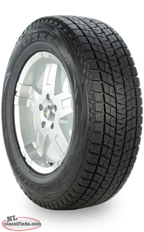 18 bridgestone blizzak dm v1 light truck suv winter tires torbay newfoundland. Black Bedroom Furniture Sets. Home Design Ideas