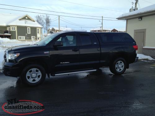 2013 4X4 Toyota Tundra SR5 PREMIUM with leather - Hillview ...