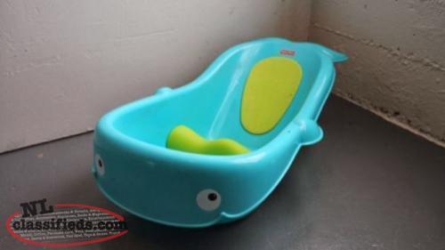 fisher price whale bathtub st john 39 s newfoundland. Black Bedroom Furniture Sets. Home Design Ideas