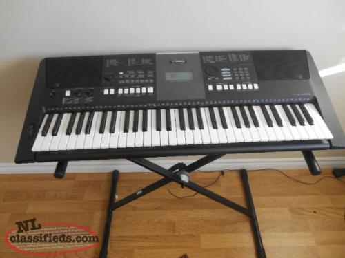 61 keys yamaha psr e423 portable keyboard with stand and for Yamaha piano keyboard 61 key psr 180