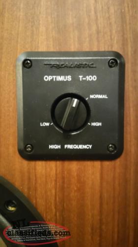 vintage realistic optimus t 100 speakers st s newfoundland