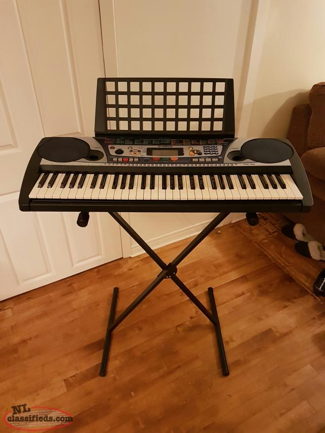 Yamaha psr 260 keyboard w stand and bench st john 39 s newfoundland Keyboard stand and bench