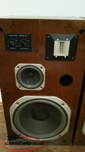 vintage realistic optimus speakers model st s newfoundland