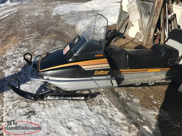 Yamaha Enticer For Sale Saskatchewan