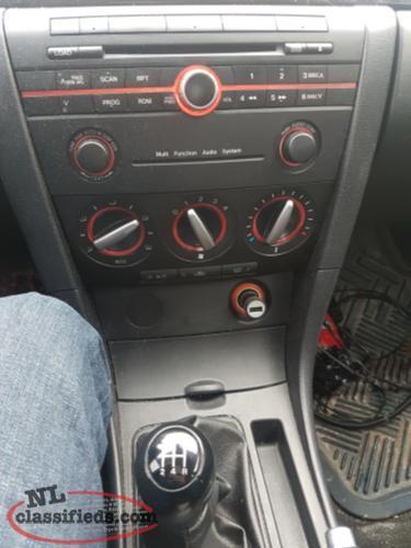 mazda 3 2017 manual transmission