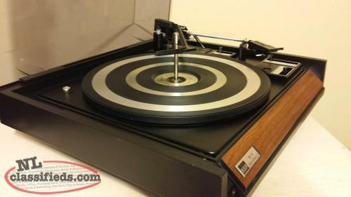 Vintage BSR Turntable eBay