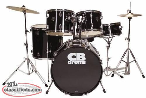 complete drum set for sale cbs newfoundland. Black Bedroom Furniture Sets. Home Design Ideas