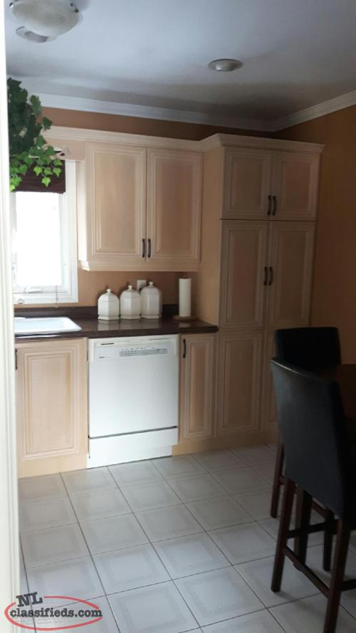 Maple kitchen cabinets chapel arm newfoundland for Kitchen cabinets nl