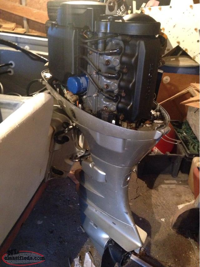 Price drop 2003 honda 50 with controls and parts motor for Honda outboard motors price