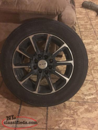 price reduced 14 inch rims and tires marystown newfoundland labrador nl classifieds. Black Bedroom Furniture Sets. Home Design Ideas