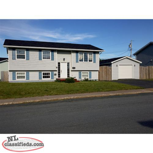 Beautiful Bright 3 Bedroom For Rent With Detached Garage