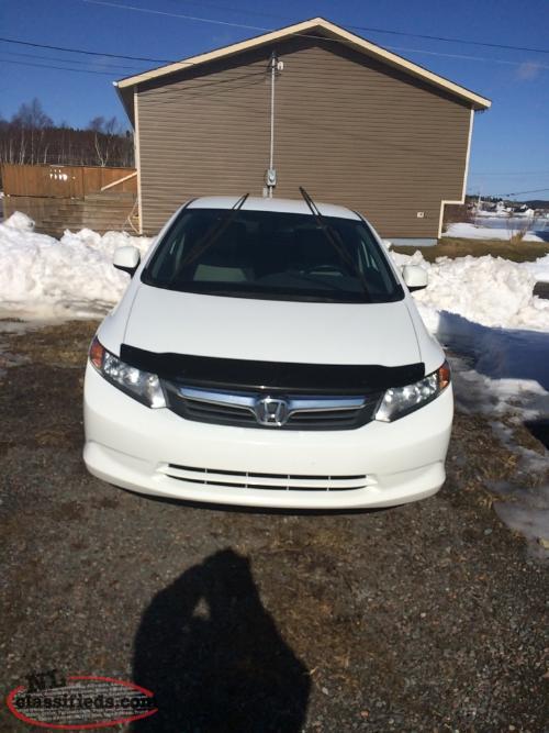 2012 Honda Civic Lx For Sale Stanhope Newfoundland