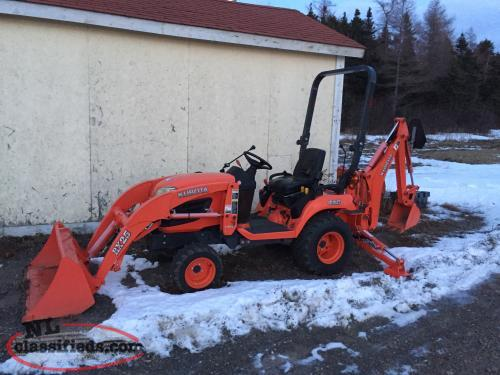 Kubota Bx2360 Accessories : Just traded kubota bx tlb and accessories mount