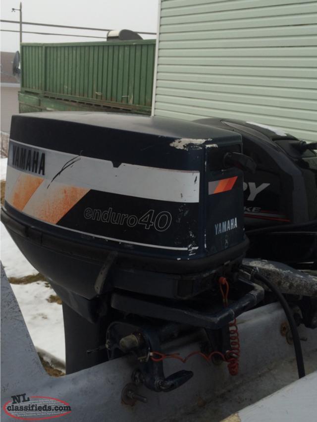 40 hp yamaha enduro mt pearl newfoundland for Yamaha enduro 40 hp outboard
