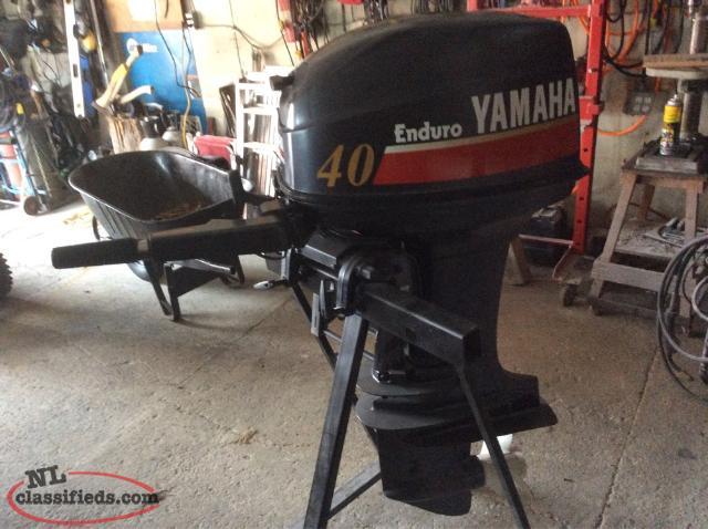 40hp yamaha enduro flatrock newfoundland for Yamaha enduro 40 hp outboard