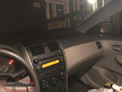 2009 toyota corolla ce sedan manual transmission st john 39 s newfoundland. Black Bedroom Furniture Sets. Home Design Ideas