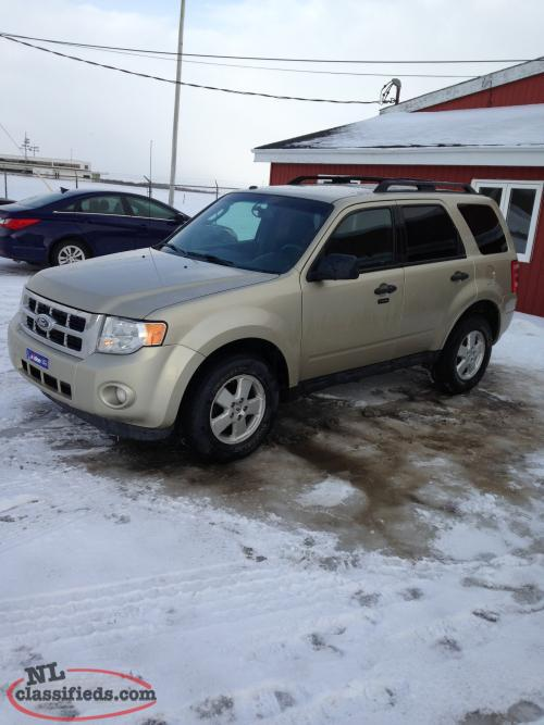 2012 ford escape for sale gander newfoundland. Cars Review. Best American Auto & Cars Review