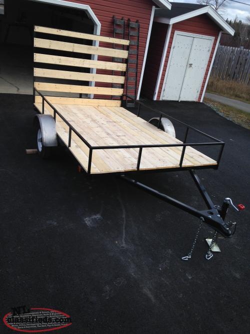 atv side by side trailer for sale gander newfoundland. Black Bedroom Furniture Sets. Home Design Ideas