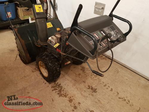 yardworks 10.5 hp 30 snowblower manual