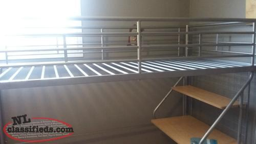 Bunk bed with desk attached mount pearl newfoundland - Beds with desks attached ...