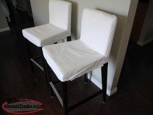 Ikea bar height chairs removable covers kelligrews newfoundland - Bar height chair slipcovers ...