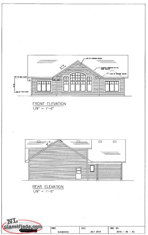 A Frame Home Or Cottage Plans Reduced Gfw Newfoundland