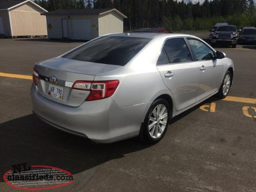 2014 toyota camry xle 4y 100 000 km gander newfoundland labrador. Black Bedroom Furniture Sets. Home Design Ideas