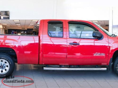 2011 Gmc Sierra 1500 Slt Ext Cab Standard Box 4wd 1sd St