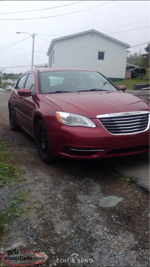 for sale 2012 chrysler 200 bay largent newfoundland. Cars Review. Best American Auto & Cars Review
