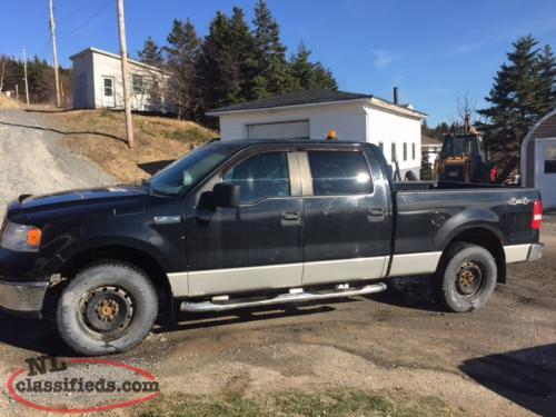 2009 ford f 150 crew cab green 39 s harbour newfoundland. Black Bedroom Furniture Sets. Home Design Ideas