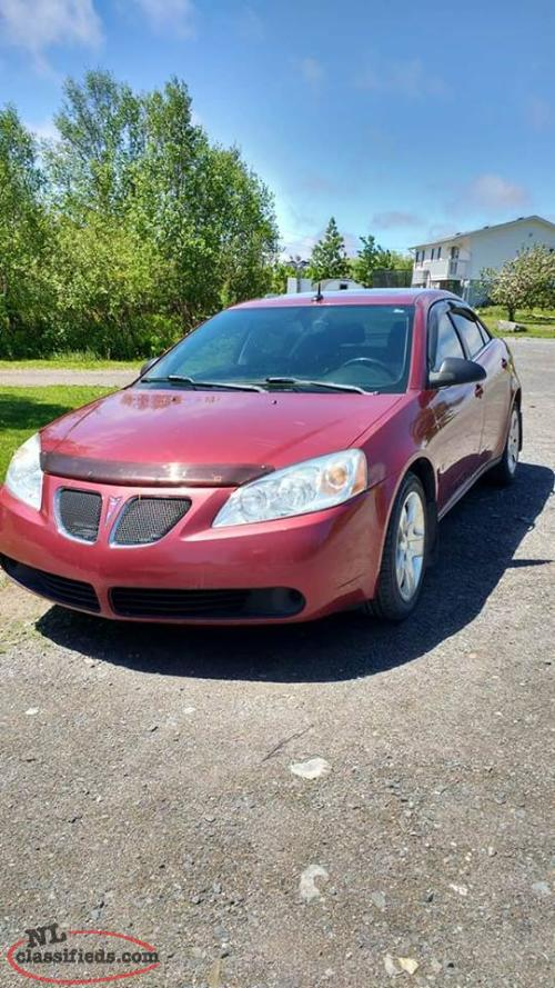 2008 pontiac g6 for sale for parts or repair salmon. Black Bedroom Furniture Sets. Home Design Ideas