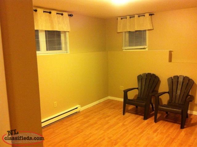 2 Bedroom Basement Apartment For Rent Available August 1st St John 39 S Newfoundland Labrador