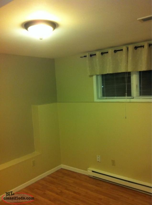 2 Bedroom Basement Apartment For Rent Available August 1st St John 39 S Newfoundland Labrador