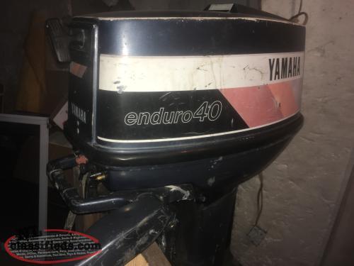 Yamaha enduro 40hp bay bulls newfoundland labrador for Yamaha enduro 40 hp outboard