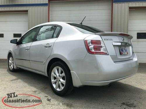 2012 nissan sentra 2 0 sl cvt st john 39 s newfoundland. Black Bedroom Furniture Sets. Home Design Ideas