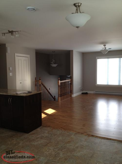 3 Bedroom Upstairs Apartment Available September Paradise Newfoundland Labrador