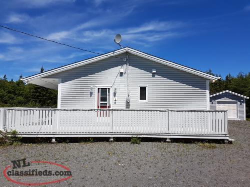 Cabin For Sale Broad Lake Bellevue Newfoundland