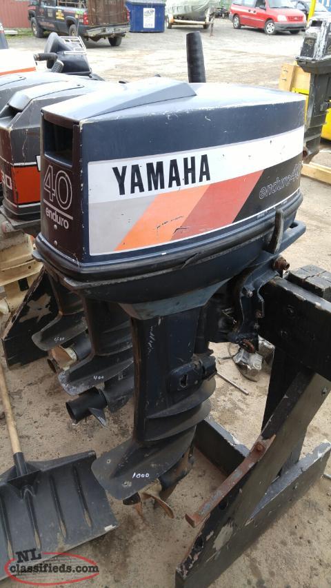 1991 yamaha enduro 40hp northern arm newfoundland labrador for Yamaha enduro 40 hp outboard