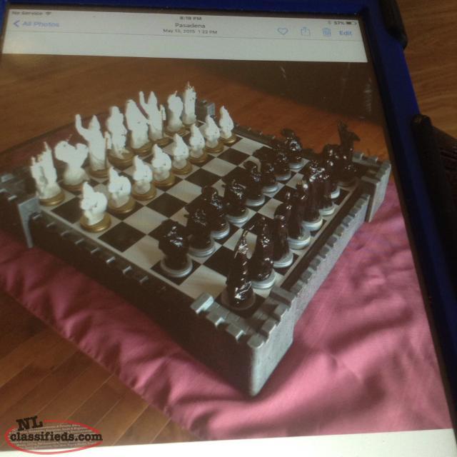 Hand made ceramic chess set reduced pasadena newfoundland labrador nl classifieds - Ceramic chess sets for sale ...