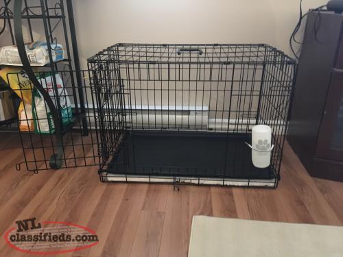 Top Paw Dog House Door Top Paw Double Door Dog Crate Conception Bay