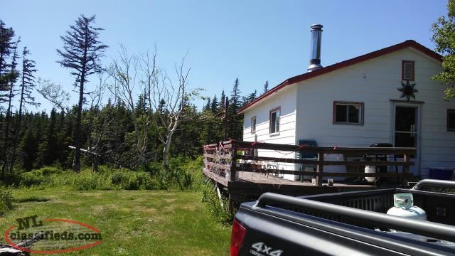 Clear title cabin for sale port union newfoundland for Cabins in newfoundland