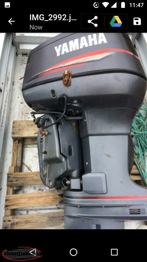 115 yamaha outboard motor for sale arnold 39 s cove for Yamaha boat motors for sale