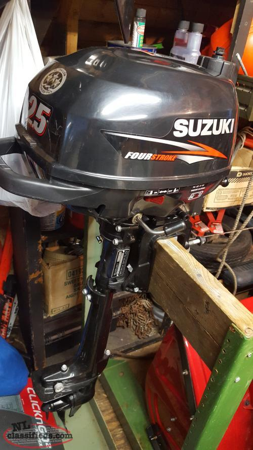 2016 Suzuki 2 5 Hp Four Stroke Outboard Corner Brook