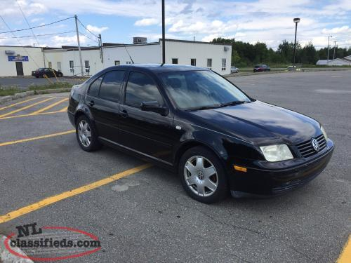 2001 vw jetta vr6 whitbourne newfoundland labrador nl. Black Bedroom Furniture Sets. Home Design Ideas