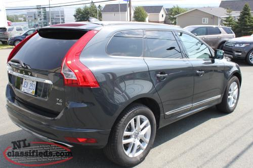 2017 volvo xc60 t6 awd certified pre owned 399 b w mount pearl newfoundland labrador. Black Bedroom Furniture Sets. Home Design Ideas