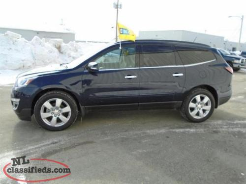 2016 Chevrolet Traverse Lt Carbonear Newfoundland