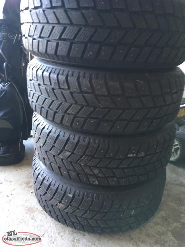 kingstar 215 60r16 studded winter tires st john 39 s. Black Bedroom Furniture Sets. Home Design Ideas
