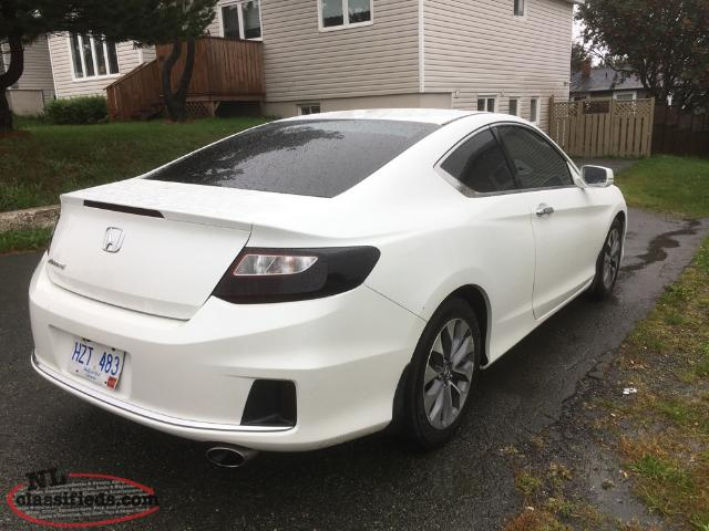 2013 honda accord coupe very clean warranty remaining st johns newfoundland labrador nl. Black Bedroom Furniture Sets. Home Design Ideas