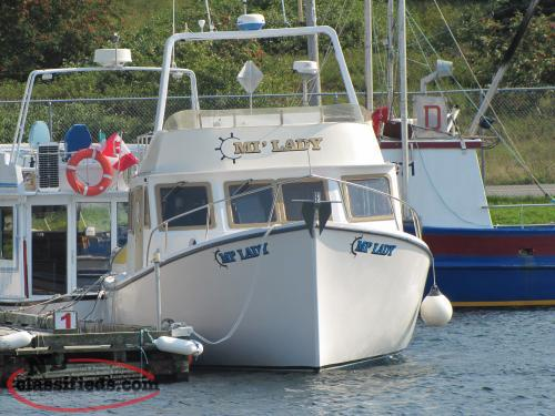 For Sale 35 Ft Cabin Cruiser Upper Island Cove